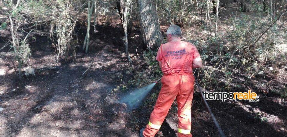 Gaeta / Terzo incendio su Monte Orlando, le indagini seguono la pista criminale