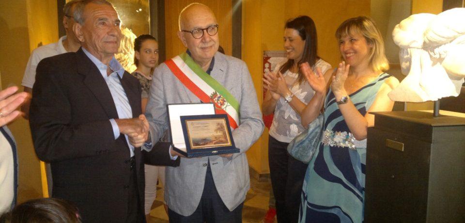 Formia / Salvò l'Erma Bifronte di Apollo, Vittorio Sciarra celebrato al Museo Archeologico Nazionale