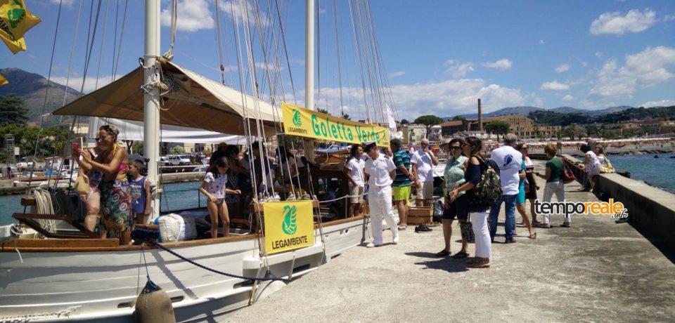 Legambiente nel sud pontino: Goletta Verde assegna la bandiera nera al Rio Santa Croce