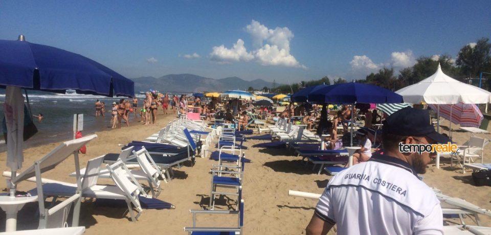 Sperlonga / Occupazione irregolare della spiaggia, interviene la guardia costiera di Gaeta