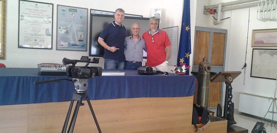 "Gaeta / L'Ambasciata degli Stati Uniti dona attrezzatura audiovisiva all'Istituto Nautico ""G. Caboto"""