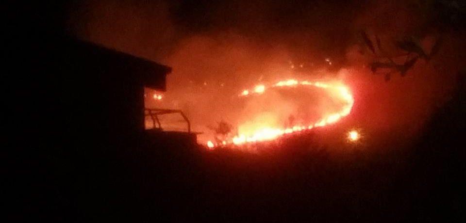 Formia / Incendio a Castellonorato, arrestato un piromane
