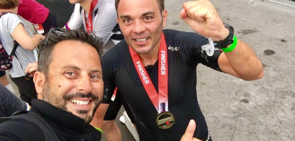 "Formia / Erasmo Marciano diventa ""Ironman"" a Zurigo ed entra nella leggenda"