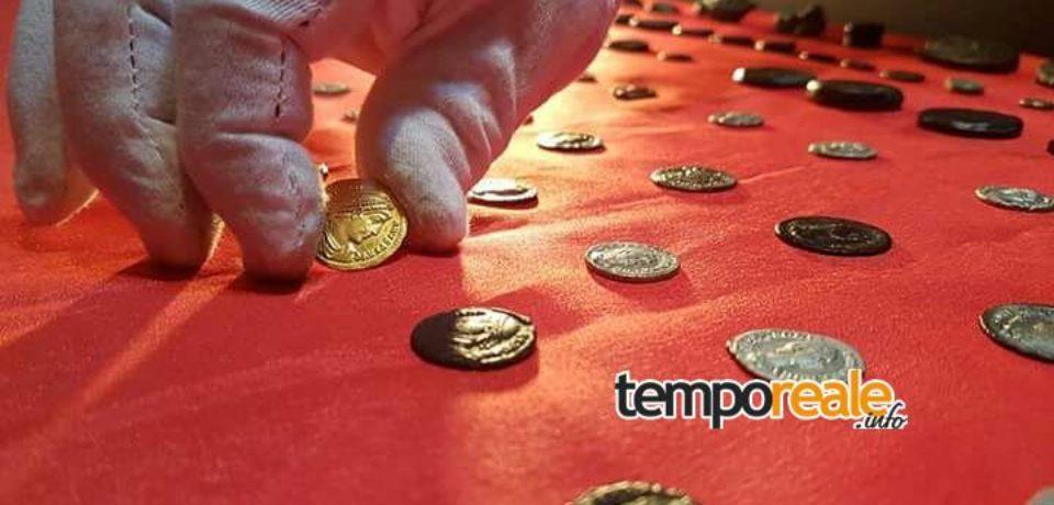 Gaeta / Le monete romane protagoniste al mausoleo Lucio Munazio Planco