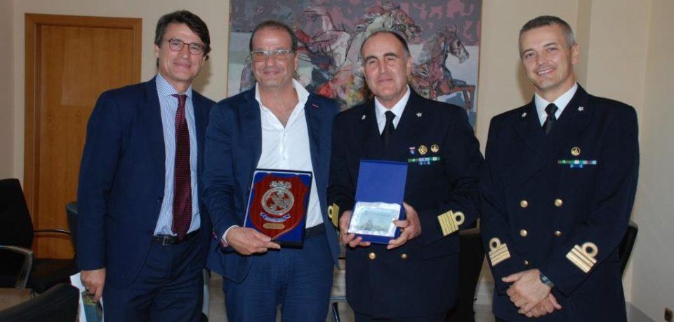 Gaeta / Il direttore marittimo Leone incontra Di Majo e Mitrano per parlare del futuro del porto