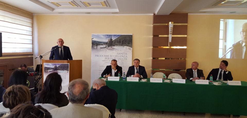 """Castelforte / """"Sanità: produrre eccellenza per fare salute"""", il convegno alle Terme Vescine"""