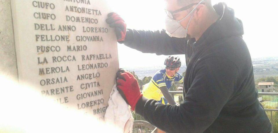 Minturno / CasaPound bonifica la frazione di Tufo