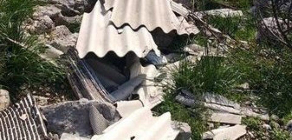 Formia / Rifiuti e amianto a Castellonorato: esposto del meetup 5 Stelle