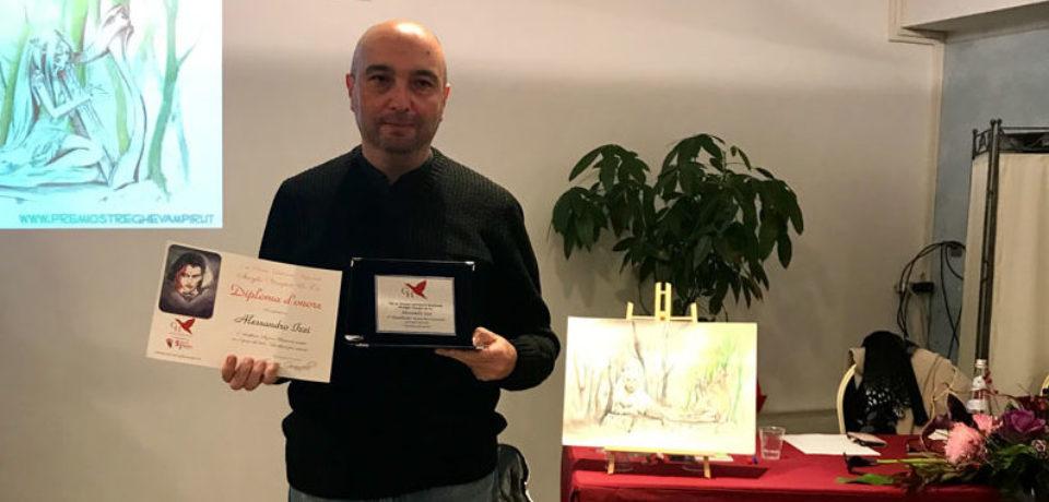 """Gaeta / Alessandro Izzi vince la VII edizione del """"Premio Letterario Streghe Vampiri & Co."""""""