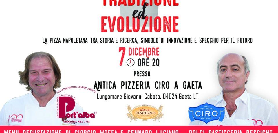 """Gaeta / La pizza napoletana tra tradizione ed evoluzione: appuntamento alla Pizzeria """"Ciro"""" (video)"""