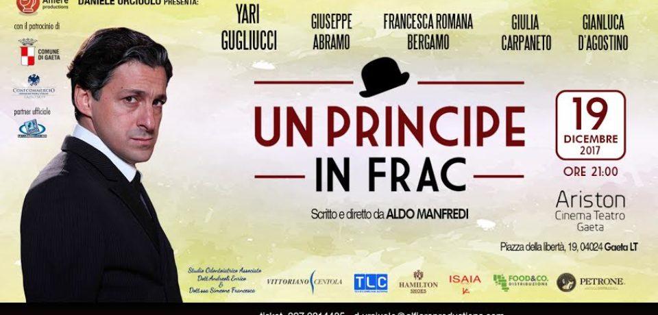 """Gaeta / """"Un principe in frac"""", lo spettacolo su Totò al Teatro Ariston"""