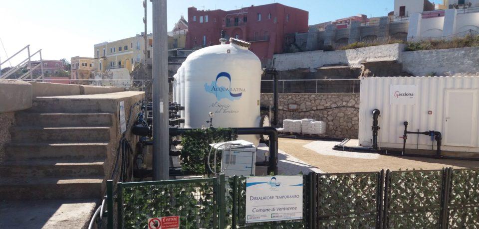 Ventotene / Acqua torbida e non potabile, il sindaco Santomauro denuncia Acqualatina