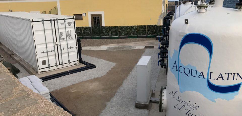 Ventotene / Dissalatore installato in ritardo, Acqualatina chiede risarcimento al Comune
