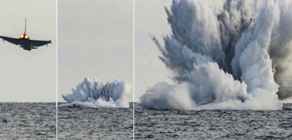Airshow Terracina, proseguono le operazioni di recupero dei rottami dell'Eurofighter