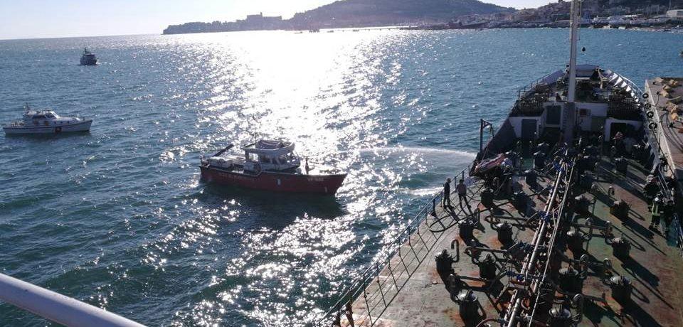 Gaeta / Simulato un incendio con intossicazione nel porto, pronta la guardia costiera