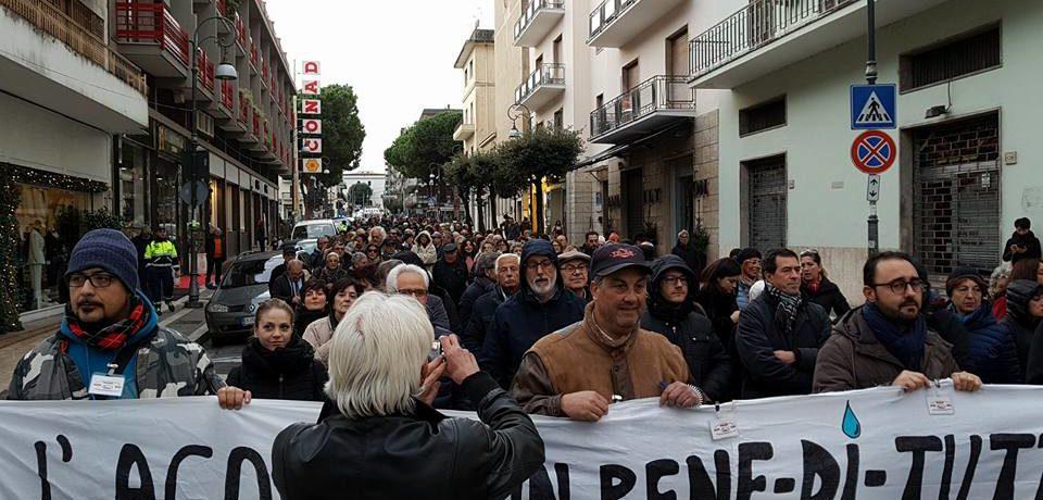 Formia / Emergenza idrica, nuovo corteo di protesta