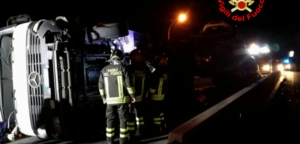 Terzo camion ribaltato sulla Flacca in 10 giorni tra Gaeta e Sperlonga
