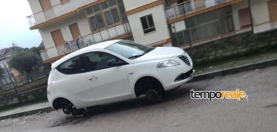 Formia / Ancora furti di pneumatici nel quartiere di San Giulio