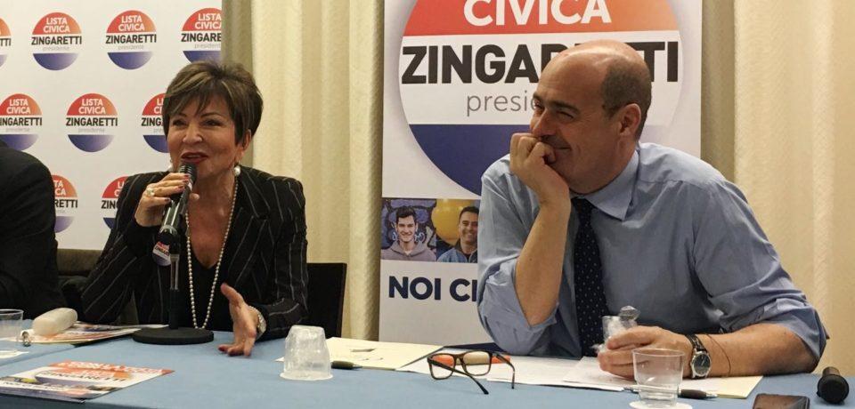 Elezioni Lazio: intervista a Edvige Gioia candidata con la Lista Zingaretti Presidente (video)