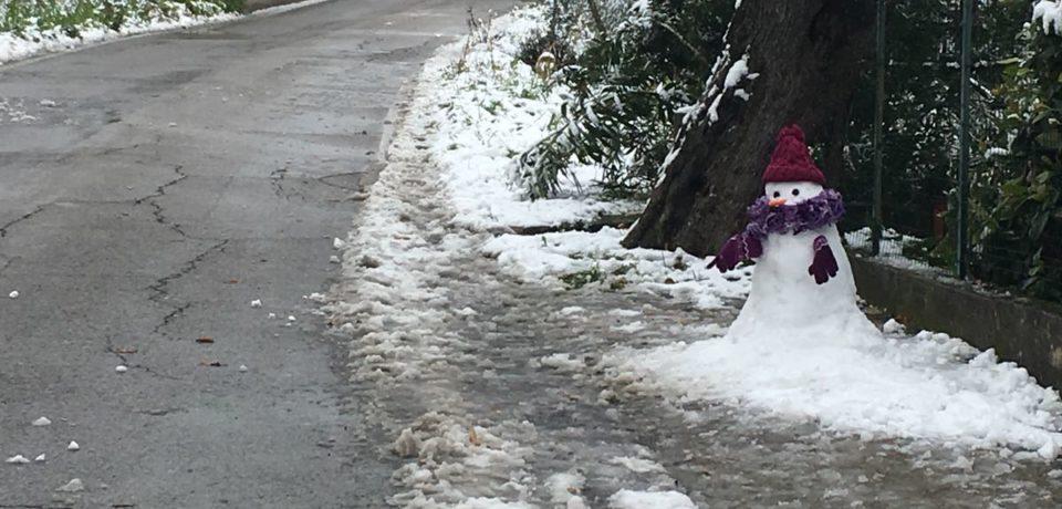 """Frosinone / Strade ghiacciate, la Provincia: """"Non mettetevi in viaggio"""""""