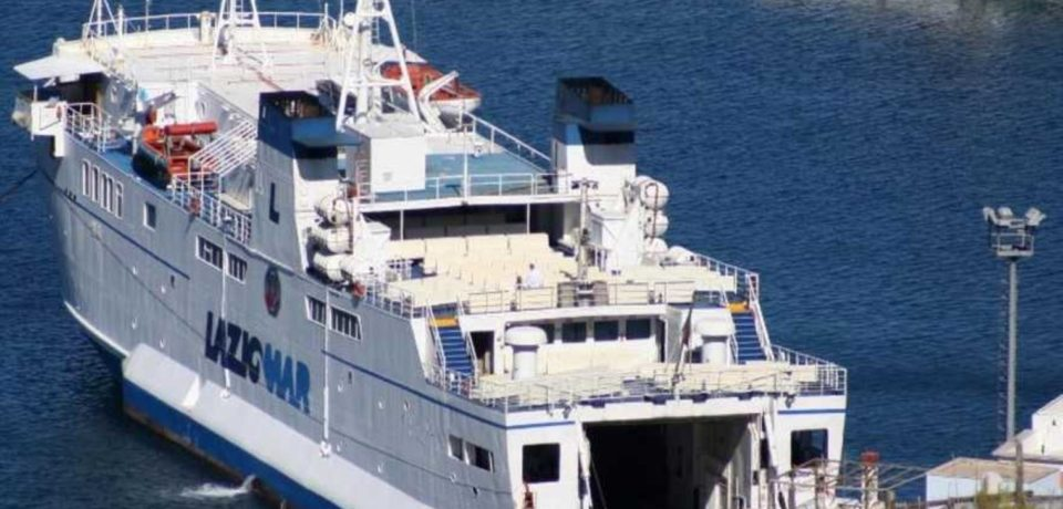 Maltempo: isole pontine di nuovo senza collegamenti
