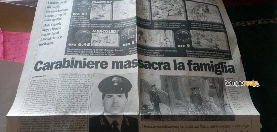 Tragedia di Cisterna di Latina: analogo caso a Formia 22 anni fa