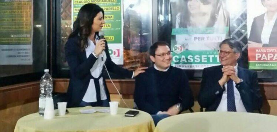 Elezioni Lazio 2018: Carmela Cassetta lancia la corsa alla Regione Lazio