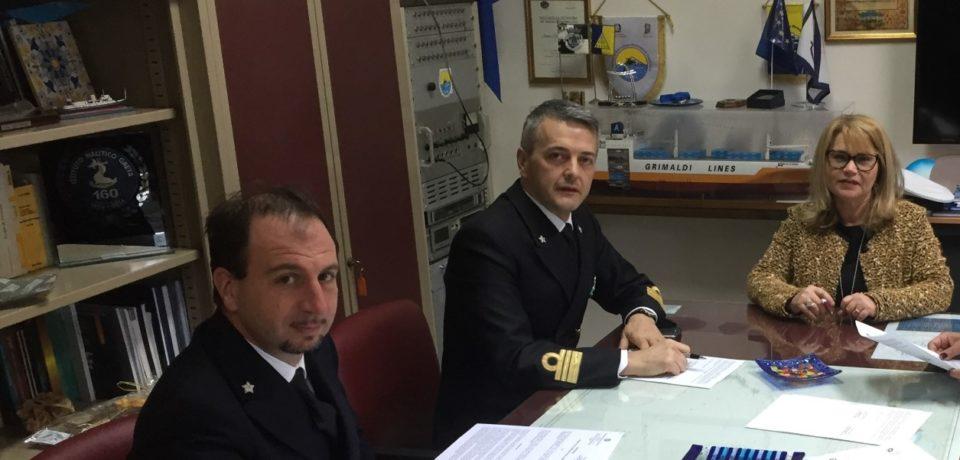 Gaeta / Stage formativi, siglata convenzione tra Capitaneria di Porto e Istituto Nautico Caboto