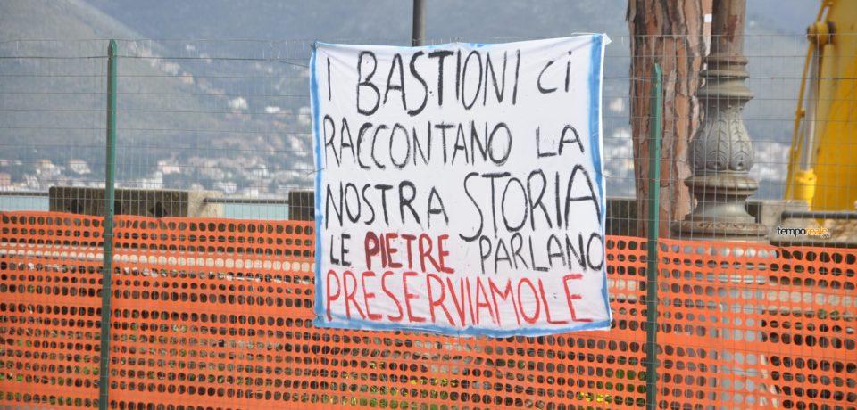 Gaeta / Lavori ai bastioni dell'Annunziata, monta la protesta (Video)