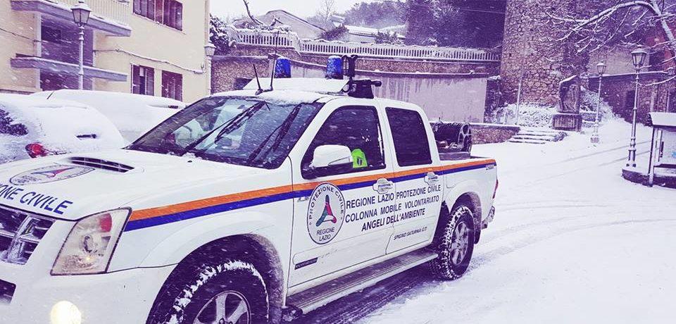 Emergenza Neve, chiuso il Centro Operativo Comunale di Spigno Saturnia