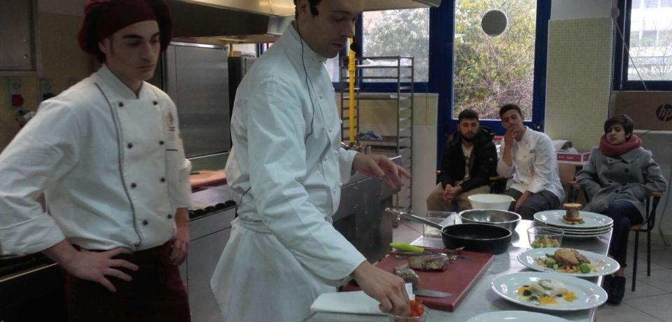 Formia / Lo chef Alessandro Circiello ospite all'Istituto Alberghiero Celletti (video)