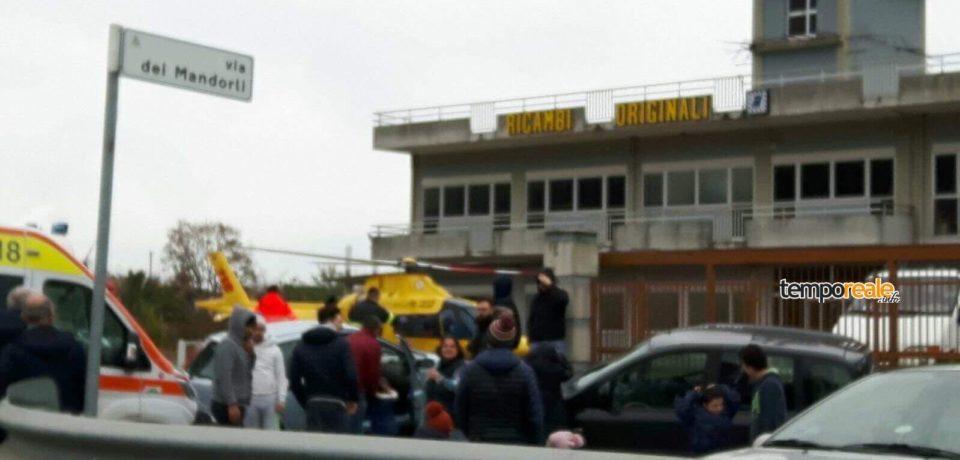 Incidente sulla Superstrada Formia-Cassino: quattro feriti