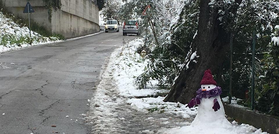"""Minturno / Il sindaco Stefanelli: """"Perfetta gestione dell'emergenza neve"""""""