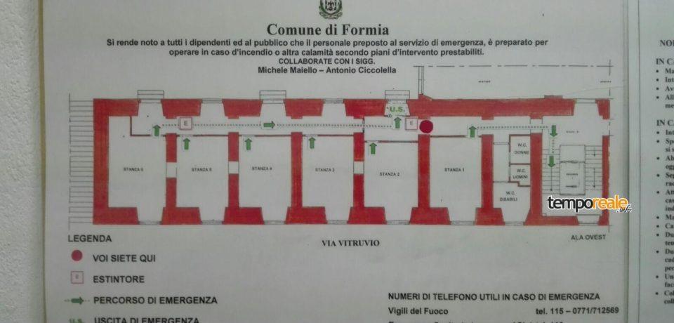 Formia / Polemiche per lo sbarramento di alcune porte di sicurezza al Comune