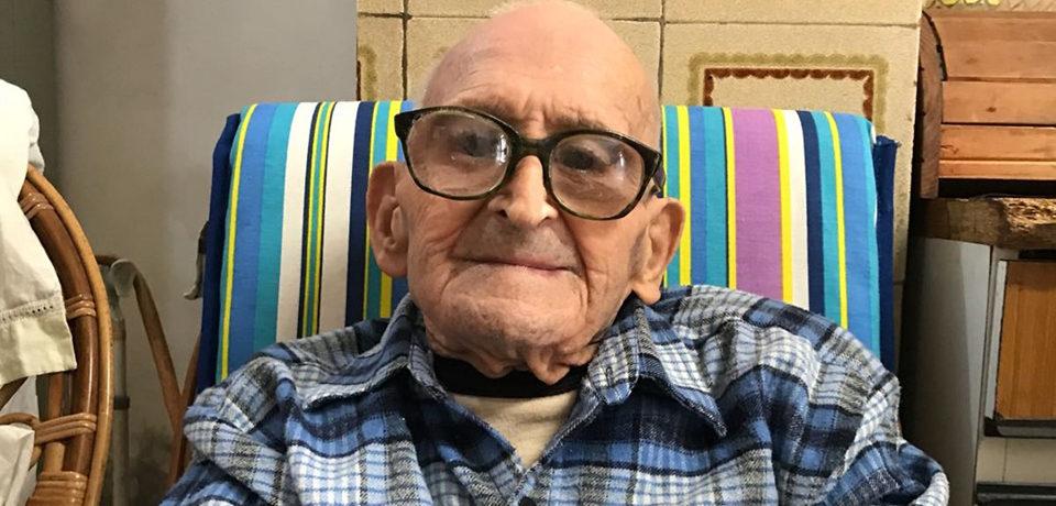 Minturno / Luigi Di Russo, veterano di guerra e prigioniero dei nazisti, compie 100 anni
