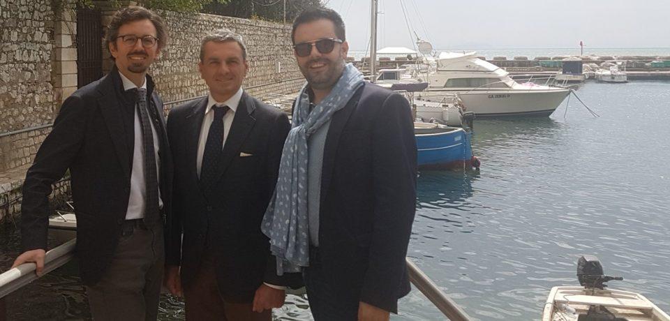 Storia locale: i principi di Caposele in visita a Formia