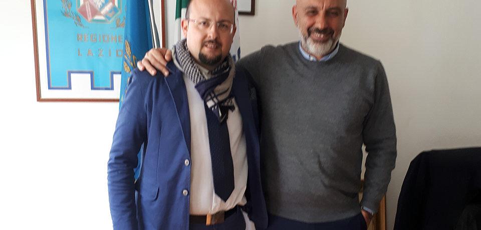 Cassino / Niki Dragonetti nominato capo della segreteria di Sergio Pirozzi in consiglio regionale