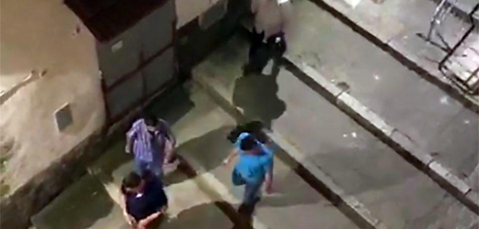 Gaeta / Raid vandalico di militari americani, indagano i carabinieri (video)