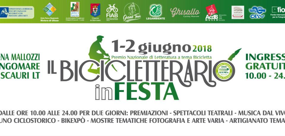Minturno / Bicicletterario in Festa: il mondo della bici fa da cornice alle Premiazioni della IV edizione