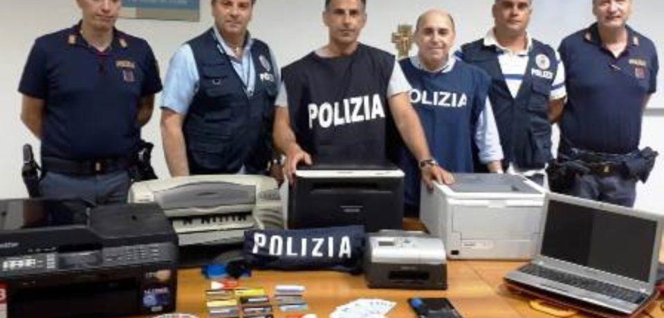 Minturno / Scoperta stamperia di banconote false in un garage: 31enne arrestato