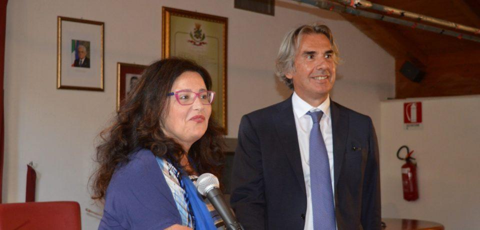 Formia / Passaggio di consegne tra il commissario Valiante e il sindaco Paola Villa (video)