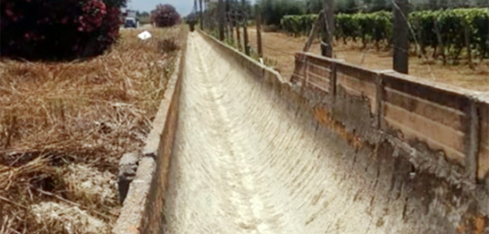 Canali irrigui completamente a secco nel sud pontino: economia agricola in ginocchio