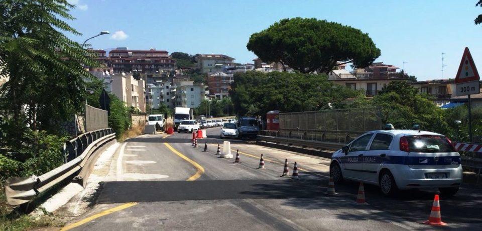 Gaeta / Viabilità, riapre in entrambi i sensi di marcia il cavalcavia SS 213 Flacca (video)