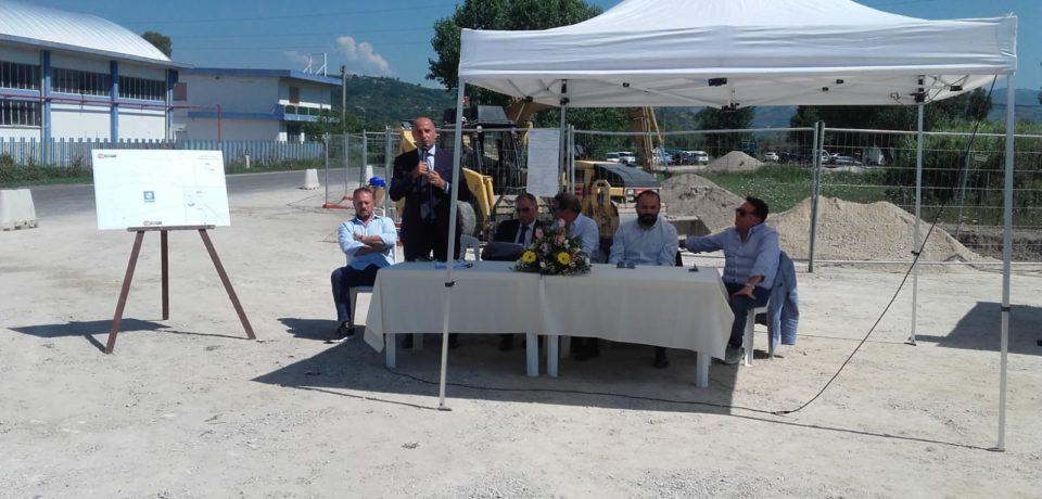 Acqualatina presenta la nuova condotta idrica Cellole-Minturno contro la siccità (video)