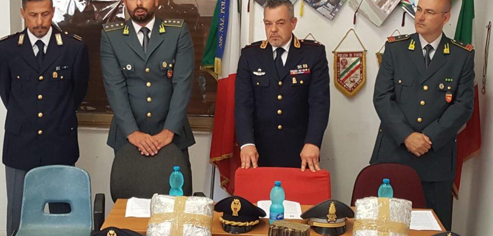 Terracina / Blitz antidroga, arrestato 49enne con oltre dieci chili di hashish e marijuana