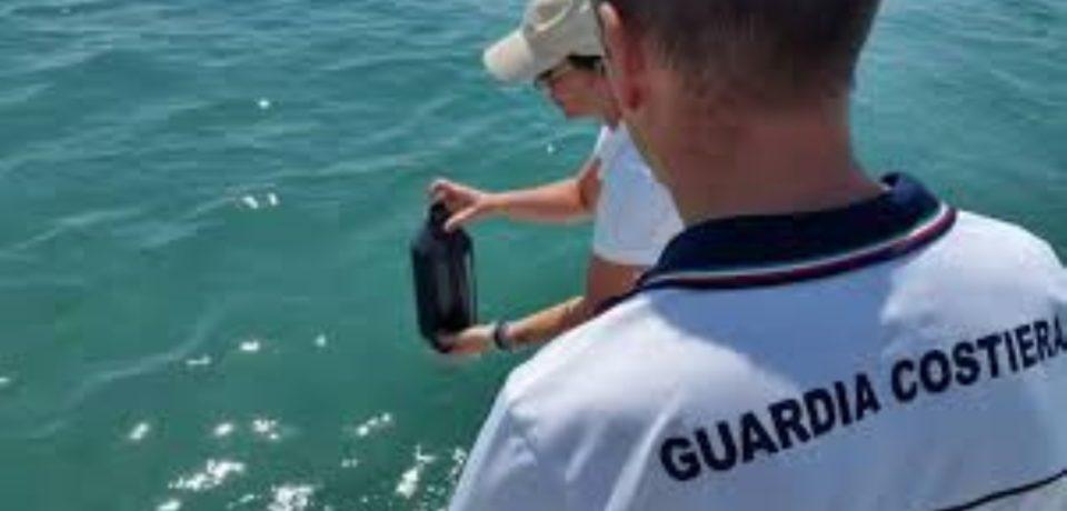 Sperlonga / Guardia Costiera indaga su un presunto inquinamento sul litorale