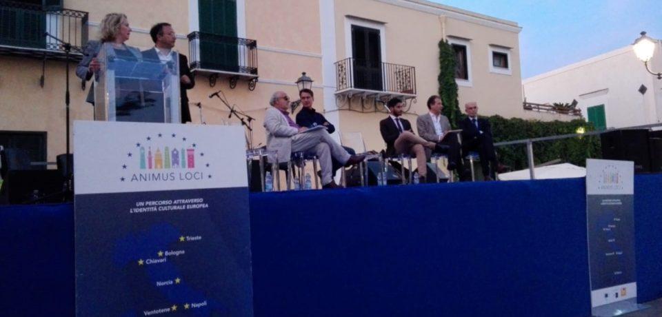 """Ventotene ospita l'evento """"Animus Loci"""" promosso dalla Commissione Europea"""