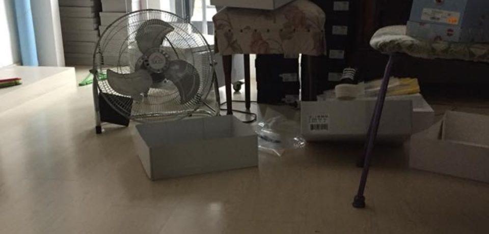 Fondi / Furto da Cicalese Store, danni ingenti