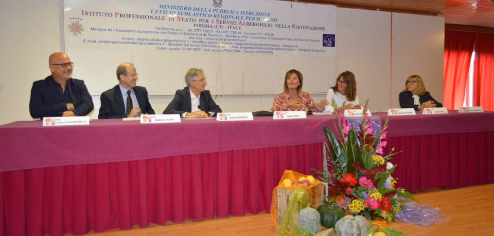 Formia / Giornata Mondiale dell'Alimentazione all'Istituto Alberghiero Celletti (video)