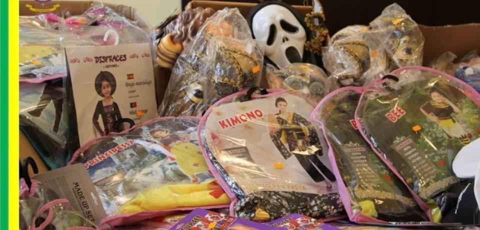 Formia / Sequestrati oltre 10mila articoli a tema Halloween potenzialmente pericolosi